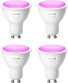 Philips Hue White & Color GU10 Bluetooth 4er-Pack