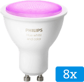 Philips Hue White and Color GU10 Bluetooth 8er-Pack