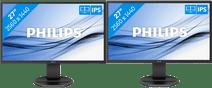 2 x Philips 272B8QJEB/00