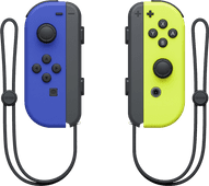 Nintendo Switch Joy-Con Set, Blau/Neongelb