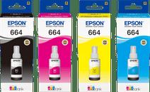 Epson T664 Tintenflaschen Kombipack