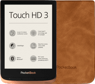 Pocketbook Touch HD 3 Kupfer + Pocketbook Shell Touch HD 3 Braun