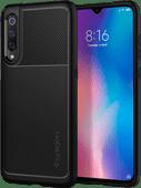 Spigen Rugged Rüstung Xiaomi Mi A3 Rückseite Schwarz