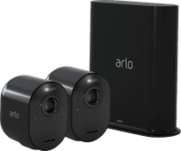Arlo Ultra Schwarz 4K Duo Pack