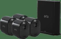 Arlo Ultra 4K Schwarz 4er Pack