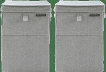 Brabantia Wäscheboxen 35 Liter: Doppelpack Grau