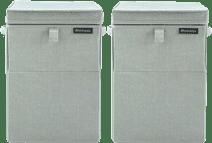 Brabantia Wäscheboxen 35 Liter: Doppelpack Grün