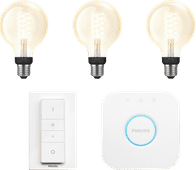 Philips Hue Glühfadenlampe White Globe E27 Bluetooth Starterpaket