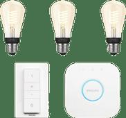 Philips Hue Glühfadenlampe White Edison E27 Bluetooth Starterpaket