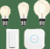 Philips Hue Glühfadenlampe White E27 Bluetooth Starterpaket