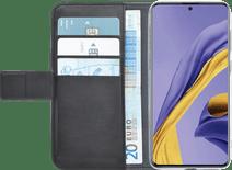 Azuri Brieftasche Samsung Galaxy A51 Bücherregal Schwarz