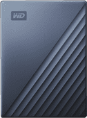 WD My Passport für Mac 4 TB Typ C Blau