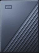 WD My Passport für Mac 4 TB Typ C Blau
