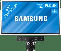 Samsung Flip 2 65 Zoll mit Wandhalterung