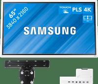 Samsung Flip 2 65 Zoll mit Wandhalterung und Connectivity Tray