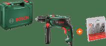 Bosch EasyImpact 550 + Kreator Bohrerset Metall / Stein / Holz 16-teilig