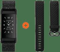 Fitbit Charge 4 Sonderausgabe Granit + Extra Kunststoffarmband