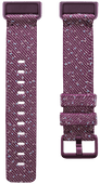 Fitbit Charge 4 Nylonband Violett S