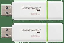 Kingston DataTraveler G4 128 GB Doppelpack