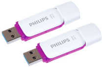 Philips Snow USB 3.0 64 GB Duo-Pack