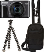 Canon PowerShot SX720 HS Schwarz Travel Kit