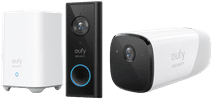 Eufy by Anker Video Doorbell Battery Set + Eufycam 2