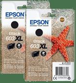 Epson 603XL Patronen Schwarz Duo Pack