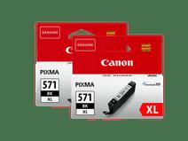 Canon CLI-571XL-Patronen Photo Black Duo Pack