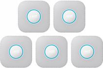 Google Nest Protect V2 (Batterie) 5er-Pack