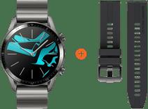 Huawei Watch GT 2 Edelstahl Grau 46 mm