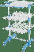 BlueBuilt-Wäscheturm mit 42 Metern Leine mit Wäscheklammern und Wäschebeutel
