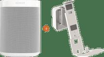Sonos One + Vogels Sound Wandhalterung Weiß