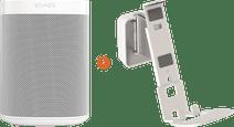 Sonos One SL + Vogels Sound Wandhalterung Weiß