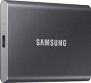 Samsung Portable SSD T5, 500 GB, Grau