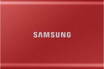 Samsung Portable SSD T7, 500 GB, Rot