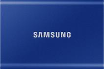 Samsung Portable SSD T7, 500 GB, Blau