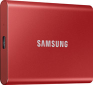 Samsung T7 Portable SSD, 1 TB, Rot