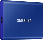 Samsung T7 Portable SSD, 1 TB, Blau