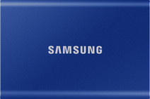 Samsung T7 Portable SSD, 2 TB, Blau