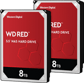 WD Red WD80EFAX 8 TB Duo-Pack - RAID 0 oder 1
