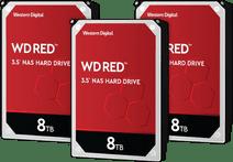 WD Red WD80EFAX 8 TB 3er-Pack - RAID 0, 1 oder 5