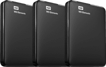 WD Elements Portable 2 TB 3er-Pack