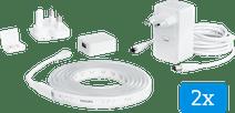 Philips Hue Lightstrip Plus White & Color Bluetooth 2x2 Meter Basisset