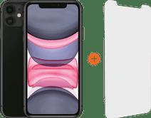 Apple iPhone 11 64 GB Schwarz + InvisibleShield Glass Elite Vision+ Displayschutzfolie