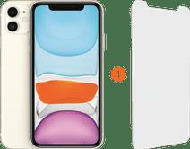 Apple iPhone 11 128 GB Weiß + InvisibleShield Glass Elite Vision+ Displayschutzfolie