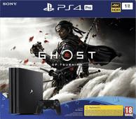 Sony PlayStation 4 Pro 1 TB Ghost of Tsushima-Bundle