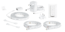 Philips Lightstrip White & Color Bluetooth 4 Meter Basis-Paket + Dimmer