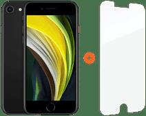 Apple iPhone SE 64 GB Schwarz + InvisibleShield Glass Elite Vision+ Displayschutzfolie