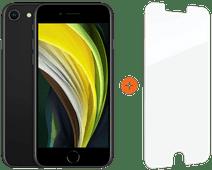 Apple iPhone SE 128 GB Schwarz + InvisibleShield Glass Elite+ Displayschutzfolie