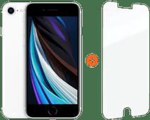 Apple iPhone SE 128 GB Weiß + InvisibleShield Glass Elite + Displayschutzfolie